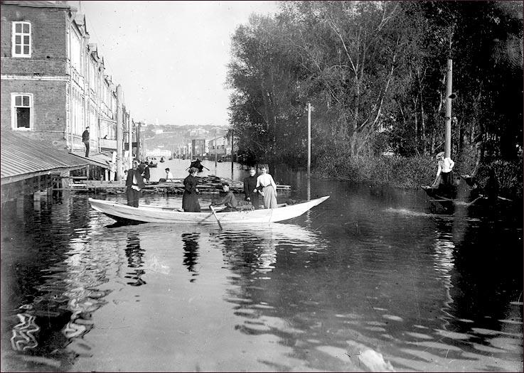 Наводнение в Нижнем Новгороде